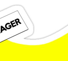 Mr. Manager Sticker