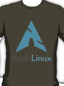 Pixelated ArchLinux T-Shirt