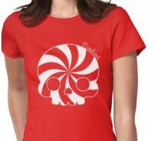 Bone Kandi - Cream Swirl Womens Fitted T-Shirt