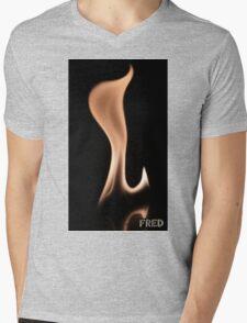 Fire on Glass - FredPereiraStudios.com_Page_05 Mens V-Neck T-Shirt