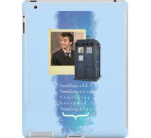 Something Blue... {2} iPad Case/Skin