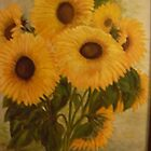 Sunflowers II by Phyllis Frameli