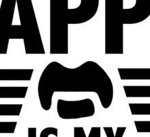 Frank Zappa - Is My Pappa Sticker