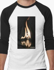 Fire on Glass - FredPereiraStudios.com_Page_18 Men's Baseball ¾ T-Shirt