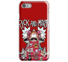 Rick And Morty Zombie iPhone Case/Skin