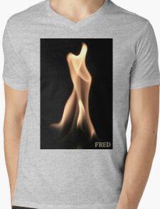 Fire on Glass - FredPereiraStudios.com_Page_22 Mens V-Neck T-Shirt