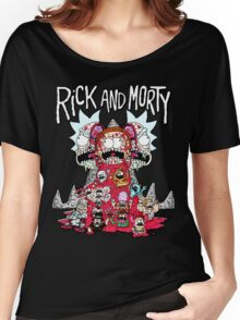 Rick And Morty Zombie Women's Relaxed Fit T-Shirt