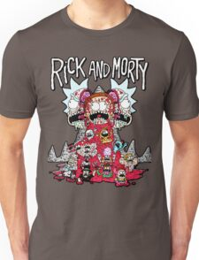 Rick And Morty Zombie Unisex T-Shirt