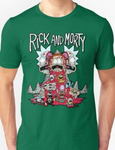 Rick And Morty Zombie T-Shirt