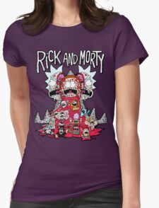 Rick And Morty Zombie Womens Fitted T-Shirt