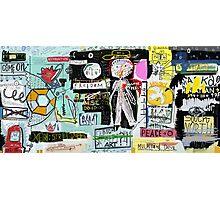 My graffiti - my street Photographic Print