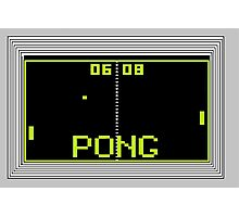 PONG Photographic Print