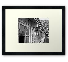 Reflections of Today Framed Print