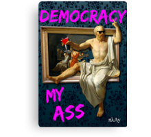 The Death (?) of Socrates Canvas Print