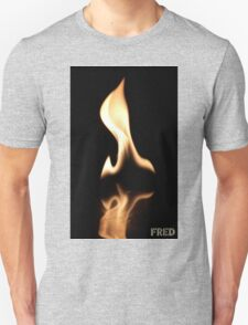 Fire on Glass - FredPereiraStudios.com_Page_29 Unisex T-Shirt