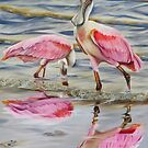 Splash of Pink! by Phyllis Beiser