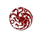 House Targaryen Worn White by Greg Brooks