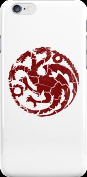House Targaryen Worn White by Greg Brooks