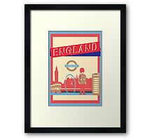 London England UK Framed Print