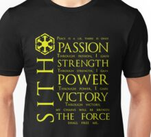 SITH Quotes Unisex T-Shirt
