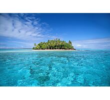 Motu Island, Bora Bora Photographic Print
