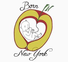 Born in New York by Szilvia Ponyiczki