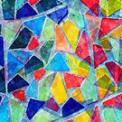 Colorful Mosaic Abstract Pattern by artonwear