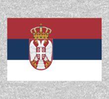 Serbia Flag by cadellin