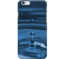 iPhone case blue water droplet no.2 iPhone Case/Skin