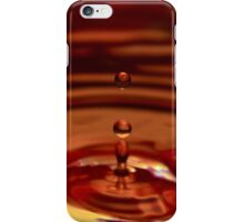 iphone case red water droplet no.2 iPhone Case/Skin