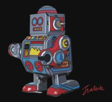 Simple robot Baby Tee