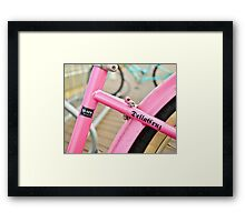 Pink Cruiser Framed Print