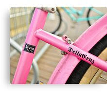 Pink Cruiser Canvas Print