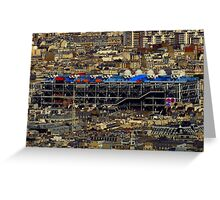 Paris From Above ~ Part One Greeting Card