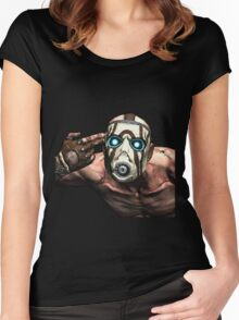 Borderlands 2 - Psycho Women's Fitted Scoop T-Shirt