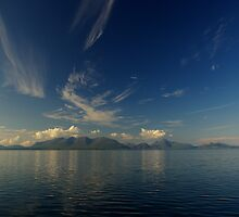Isle of Rum - panorama by lukasdf