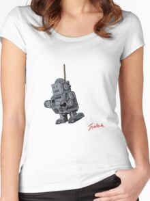 Suicide Robot Women's Fitted Scoop T-Shirt