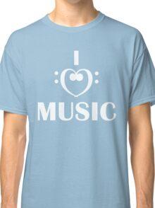 I love music  Classic T-Shirt