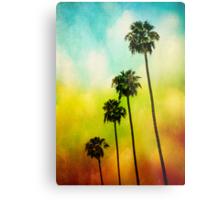 4 Palms Metal Print