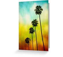 4 Palms Greeting Card