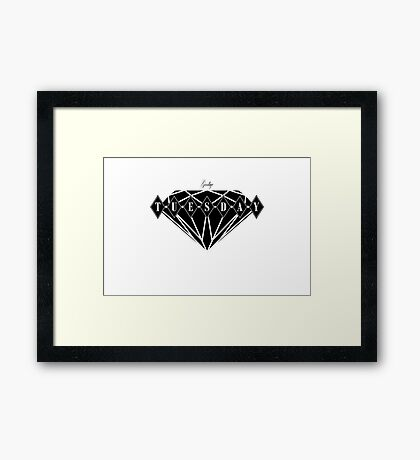 Ruby Tuesday Prt.II Framed Print