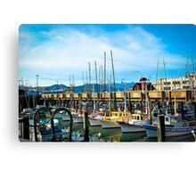 San Francisco and Color Canvas Print