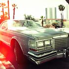American vintage car in Kodachrome by Reinvention