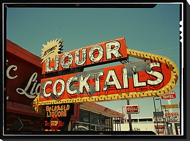 Las Vegas Neon Sign in Kodachrome by Reinvention