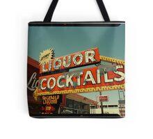 Las Vegas Neon Sign in Kodachrome Tote Bag
