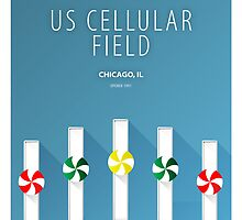 Minimalist US Cellular Field - Chicago by pootpoot