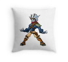 Jak and Daxter - Dark Jak Throw Pillow