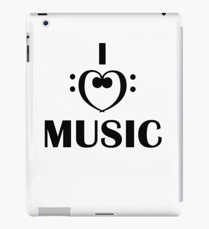 I love music iPad Case/Skin