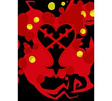 Heartless Red (Kingdom Of Hearts) Photographic Print