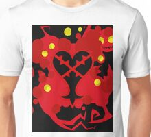 Heartless Red (Kingdom Of Hearts) Unisex T-Shirt